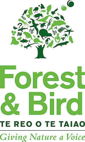 Forest & Bird Bullock Track Bush logo